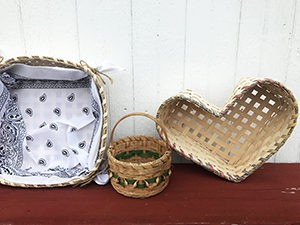 Basket Weaving for Beginners -- 3 Part Workshop Series